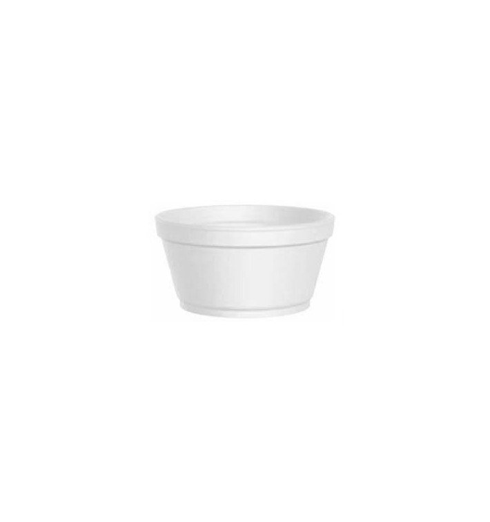 Pot en Foam Blanc 2 Oz/60ml Ø7,4cm (1000 Unités)