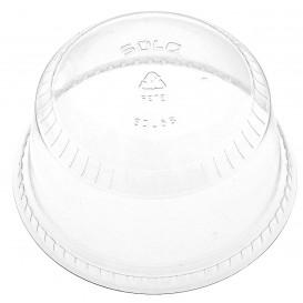 Plastic PET koepel Deksel Kristal Ø9,8cm (1000 stuks)