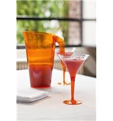 Verre à Cocktail Plastique Orange 100ml (48 Unités)