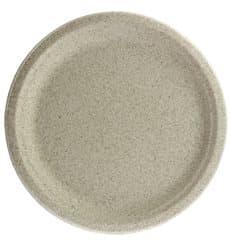 Assiette en Son de Blé Naturel Ø26cm (50 Utés)