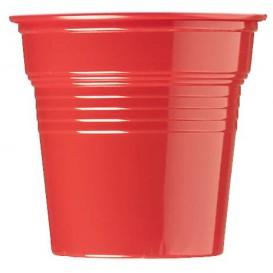 Plastic PS Shotje rood 80ml Ø5,7cm (1500 stuks)