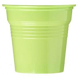 Gobelet Plastique PS Vert Citron 80ml Ø5,7cm (1500 Utés)