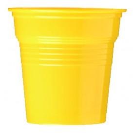 Plastic PS Shotje geel 80ml Ø5,7cm (1500 stuks)