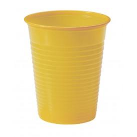 Plastic PS beker Mango 200ml Ø7cm (50 stuks)