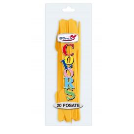 Couteau Plastique PS Mangue 175mm (20 Unités)