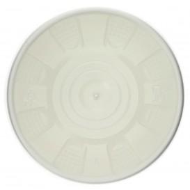 Pot en Carton Blanc avec Couvercle PP 488ml (25 Unités)