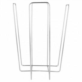Porte-serviettes Cocktail en Fil Metallique 11x11x18cm (12 Utés)