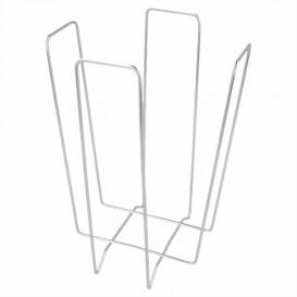 Porte-serviettes en Fil Metallique 22x22x18cm (1 Uté)