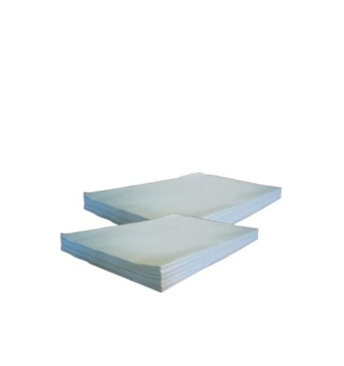 Papier Mousseline Blanc de 60x43cm 22g (4800 Utés)
