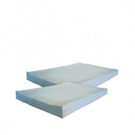 Papieren voedsel wrap Manila wit 30x43cm 22g (800 stuks)