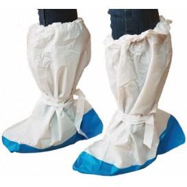 Wegwerp plastic laarzen hoezen PE met Reinvoorce Sole (20 stuks)