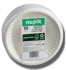 Bol en Papier Blanc Biodégradable 250ml (250 Unités)