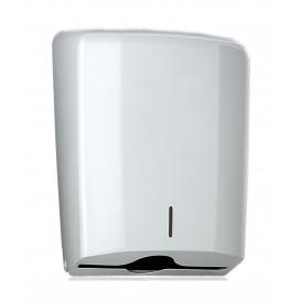 """Papieren handdoek Dispenser """"ABS"""" Elegance wit (1 stuk)"""