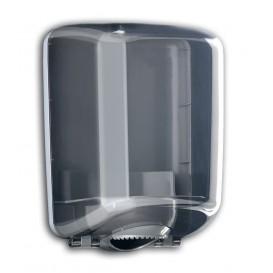 """Plastic Papieren Dispenser ABS middelste treksrip """"Smoked"""" (1 stuk)"""
