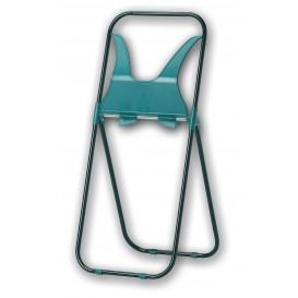 Plastic Papieren rol statief ABS Verstevigd groen (1 stuk)