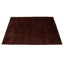 Set de Table en PP Non-Tissé Marron 35x50cm 50g (500 Utés)