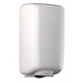 Plastic Papieren Dispenser ABS mini middelste treksrip wit (1 stuk)