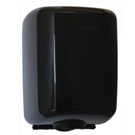 Plastic Papieren Dispenser ABS middelste treksrip zwart (1 stuk)