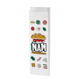 Sac sandwich Ñam 10+4x29cm (125 Utés)