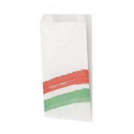 Papieren stokbrood zak Vetvrij met Opening 9+5x32cm (1000 stuks)