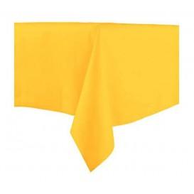 Tafelkleed Novotex niet geweven geel 100x100cm (150 stuks)