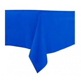 Tafelkleed Novotex niet geweven blauw 100x100cm (150 stuks)