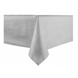 Tafelkleed Novotex niet geweven grijs 100x100cm (150 stuks)
