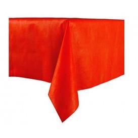 Tafelkleed Novotex niet geweven rood 100x100cm (150 stuks)