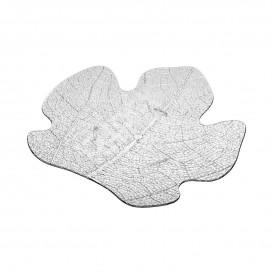 Proeving Plastic bord PS Plat transparant 8x6,6 cm (600 stuks)
