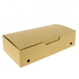 Papieren take-out doos groot maat kraft 2,00x1,00x0,50,m (375 stuks)