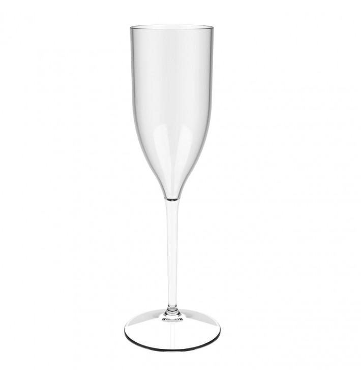 """Flûte Réutilisable à Champagne """"Bio Based"""" Tritan 170ml (1 Uté)"""
