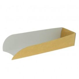 Emballage Hot Dog Kraft 17x5x3,5cm (1.000 Unités)