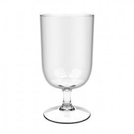 """Plastic stam bierglazen Tritan Herbruikbaar """"Biogebaseerd"""" 354ml (6 stuks)"""
