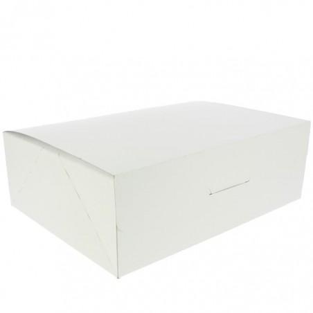 Boîte pâtissière 25,8x18,9x8cm 2Kg Blanc (125 Unités)