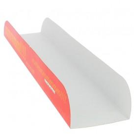 Papieren stokbrood dienblad 30x6,1x3,2 (100 stuks)