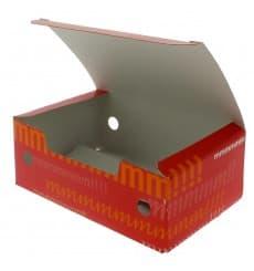 Boîte pour repas à emporter Petit 115x72x43mm (25 Utés)