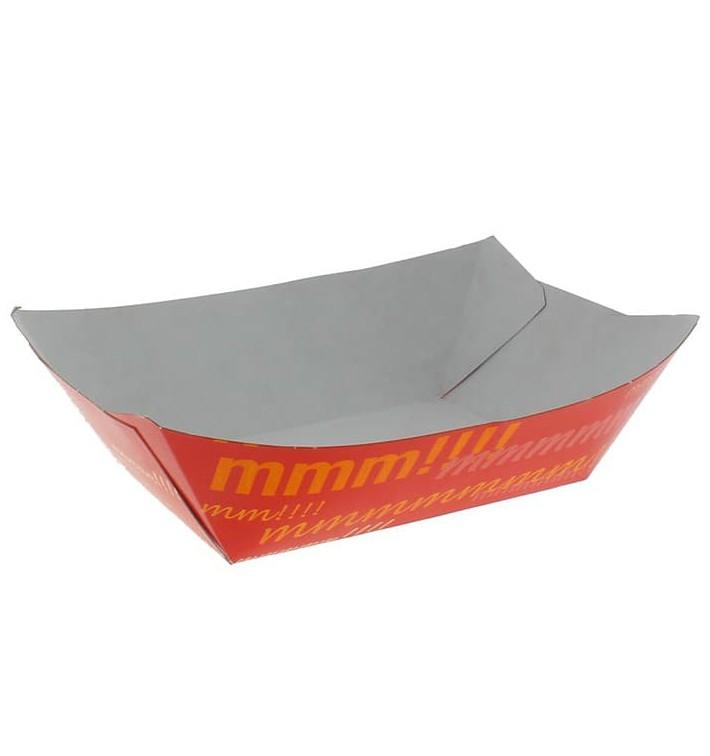 Barquette Carton 350ml 10,6x7,3x4,5cm (25 Unités)