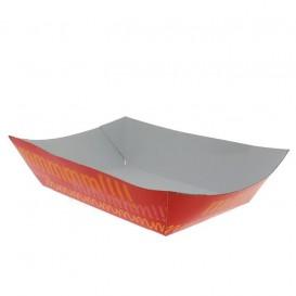 Kartonnen Snackbakjes 300ml 11,0x7,0x3,5cm (1000 stuks)