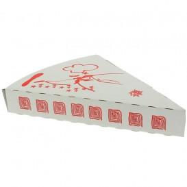 Gegolfde Pizza stuk doosje Takeaway (350 stuks)