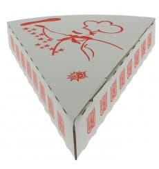 Gegolfde Pizza stuk doosje Takeaway (350 eenheden)
