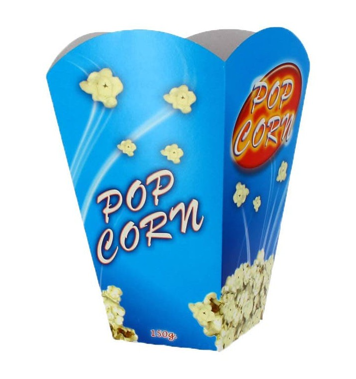 Etuis à Pop-Corn Grand 150g 8,7x13x20,3cm (250 Unités)
