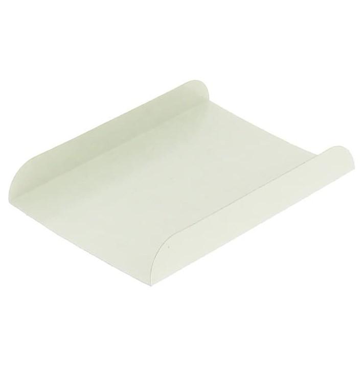 Emballage blanc pour gaufre 13,5x10cm (100 Utés)