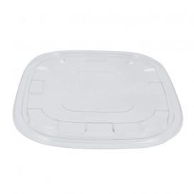 Couvercle Plastique PET Transp. pour Bol 27x27cm (50 Utés)