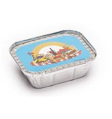 Couvercle Carton Emballage Aluminium 250ml (1000 Utés)