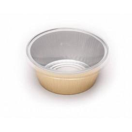 Couvercle PVC pour Godet en Aluminium 135ml (166 Utés)