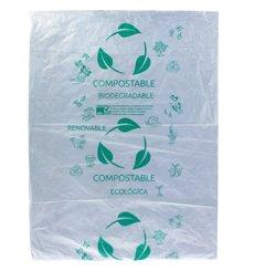 Sac Abattoir Plastique 100% Compostable 30x40cm G50 (300 Utés)