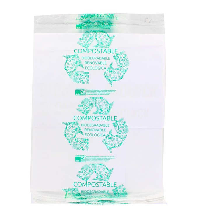 Sac Abattoir Plastique 100% Biodégradable 30x40cm G50 (300 Utés)