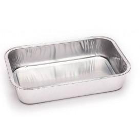 Barquette en Aluminium Paroi Lisse 330 ml (100 Utés)