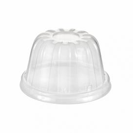 Plastic koepel Deksel PS transparant Ø8,9cm (1000 stuks)