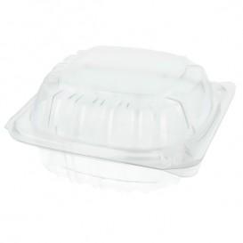 "Plastic scharnierende Deli-Container OPS ""transparant Seal"" 120ml (500 stuks)"